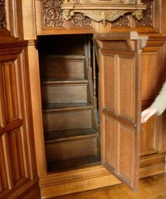 I've at all times had a fascination with the idea of hidden rooms. Lots of the books I've learn instructed of secret passageways or a [. Hidden Rooms In Houses, Hidden Spaces, Hidden Panic Rooms, Cool Secret Rooms, Secret Space, Secret Hiding Places, Safe Room, Dream Rooms, Cool Rooms