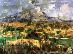 CEZANNE. Montaña Sainte-Victoire. 1904-1906