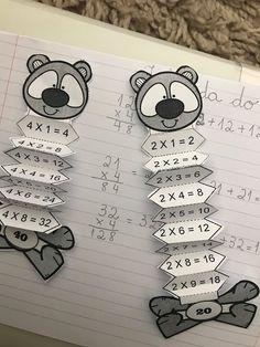 Vorschule Basteln Winter – Rebel Without Applause Math For Kids, Fun Math, Childhood Education, Kids Education, Math Worksheets, Preschool Activities, Math School, Math Multiplication, Math Projects