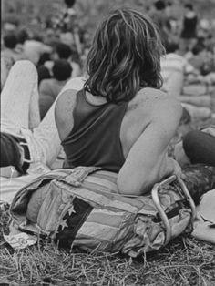 Hippies at Woodstock Music Festival Lámina fotográfica de primera calidad at AllPosters.com