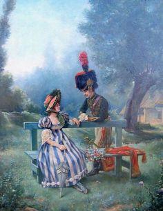 Cacciatore a cavallo della guardia imperiale francese, J. Marcoux