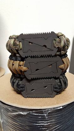 Paracord bracelet/band sandwich from The Para-Cord Guy. Tw… | Flickr