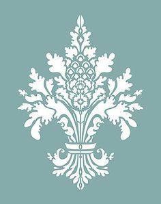 Fleur de Lis stencil