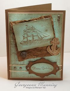 Stampin' Everything!: The Open Sea, it Calls to Me!