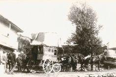 Diligencia que cubría regularmente el trayecto Santander - Somo (1899).