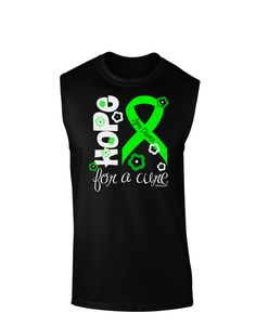 Raise awareness for Lyme Disease with this Hope for a Cure design. These fun printed garments are a great personal touch on you, or as a gift to a friend or loved one! Great for all-year-round too! Co