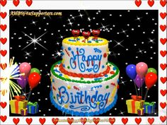 Animated Happy Birthday Wishes Videos Shop Animated Happy Birthday Wishes, Happy Birthday Greetings Friends, Special Birthday Wishes, Happy Birthday Video, Birthday Blessings, Singing Happy Birthday, Birthday Gifts For Best Friend, Happy Birthday Images, Man Birthday