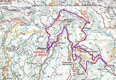 Trekking Cima Rest- Percorso storico n.2