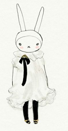 Fifi Lapin wears Valentino