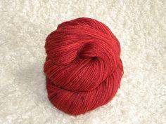 Hand Dyed Yarn 2 ply lace weight Suri Alpaca by mustardseedyarnlab, $18.00