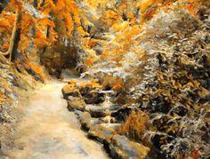 I uploaded new artwork to fineartamerica.com! - 'Autumn Road' - http://fineartamerica.com/featured/autumn-road-lanjee-chee.html via @fineartamerica