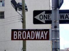 broadway musical board.