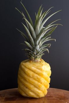 How to cut a pineapple in the prettiest way /