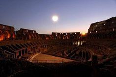 La luna sul colosseo - Aperture serali dell' Anfiteatro Flavio: il giovedì e il sabato dal 24 aprile al 1 novembre http://www.saichearoma.it/luna-sul-colosseo/