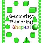 Second & Third Grade Geometry Common Core Aligned Unit, STEM - Meredith Anderson
