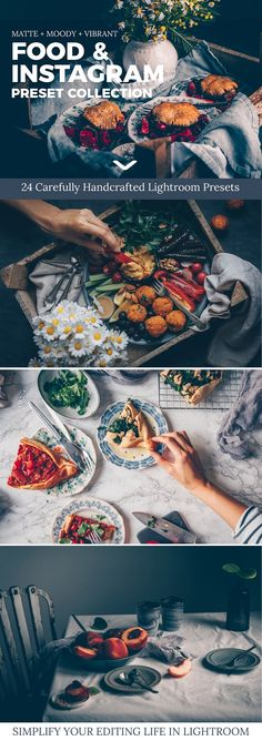 Free Download Food & Instagram Lightroom Presets by black.white.vivid. on @creativemarket