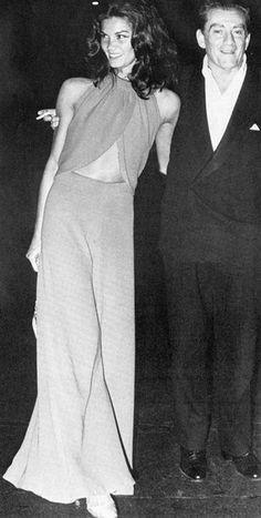 want the jumpsuit! florinda bolkan and luciano visconti, icons from the 70's.
