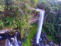 Circuito de cicloturismo atravessa a região conhecida como o Vale das Cachoeiras .