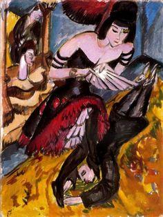 Ernst Ludwig Kirchner(DEU) エルンスト・ルートヴィッヒ・キルヒナー(独)