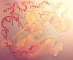 Bloom and Daphne by AxelStardust on DeviantArt