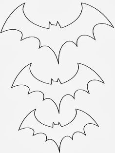 Looking for a Coloriage A Imprimer Halloween Chauve Souris. We have Coloriage A Imprimer Halloween Chauve Souris and the other about Coloriage Imprimer it free. Moldes Halloween, Casa Halloween, Image Halloween, Halloween Templates, Adornos Halloween, Manualidades Halloween, Halloween Crafts For Kids, Holidays Halloween, Preschool Halloween Activities