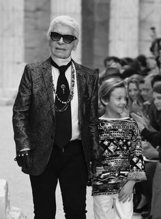 ♔ Lagerfeld for Chanel