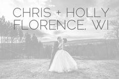 Holly & Chris said I Do :: Florence WI & UP MI Wedding Photographer - Alison Kundratic Photography