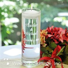 Cathy's Concepts Unity Candle 3903FC / Floating Unity Candle