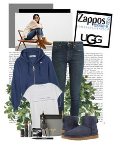 """The Icon Perfected: UGG Classic II Contest Entry"" by polybaby ❤ liked on Polyvore featuring UGG, Yves Saint Laurent, MANGO, Prada, Christian Dior, MAC Cosmetics, Lipstick Queen, Trish McEvoy, ugg and contestentry"