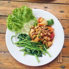 Vietnamesisk kylling med cashewnødder – opskrift | Cathrineyoga.dk