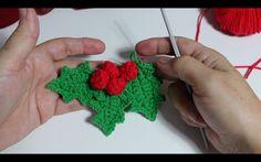 No te quedes sin tejer estás hojas paso a paso, decora tu hogar está Navidad ! Decora tu hogar y árbol está Navidad. Merry Christmas :) Para votarme en los p...