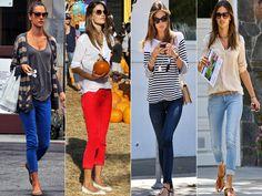 Models Off Duty: Alessandra Ambrosio  Street Style