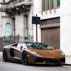 Lamborghini Aventador Roadster wrapped in Satin Brown  Photo taken by: @arthurh_photo on Instagram (@87.ed on Instagram is the owner of the car)