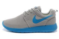 san francisco e3df3 bcb73 Nike Roshe Run Mens GreyBlue Roshe Run Shoes, Nike Roshe Run, Running