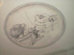 plafondschildering Tableware, Dinnerware, Dishes