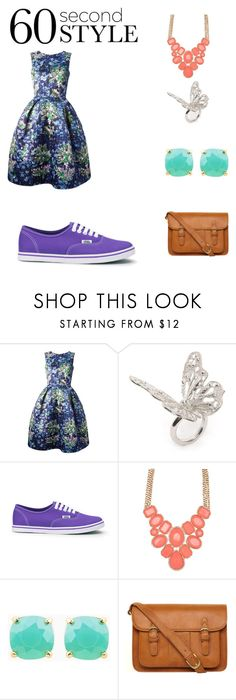 """""""60 Second Style"""" by yay-yay-hernandez ❤ liked on Polyvore featuring Mary Katrantzou, Alexander McQueen, Vans, ALDO and Nica"""