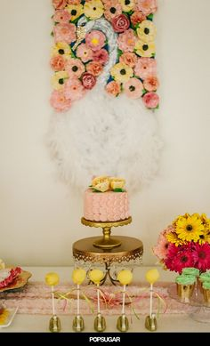 Pin for Later: We're Swooning Over This Serene Swan-Themed Baby Shower