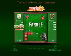 Did you know that Farkle is the most addictive dice game ever?