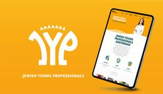 The Amsterdam based Jewish Young Professionals is rebranded! Environmental Change, Young Professional, Freelance Graphic Design, Amsterdam, Logo Design, Create