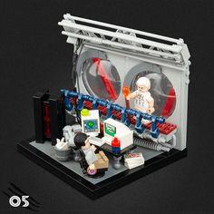 Lego Jurassic Park, Jurassic Park World, Legos, Jurrassic Park, Amazing Lego Creations, Lego Construction, Lego Worlds, Lego Design, Lego Creator