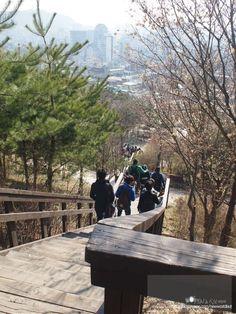 Naksan Park, Dongdaemun, Korea 낙산공원, 동대문, 한국