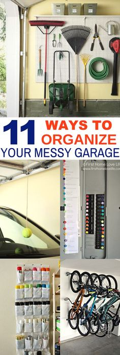 These 11 Garage Organization And DIY Hacks Are Life Savers! I love how easy and creative the color coded breaker and peg board ideas are! So Cute!