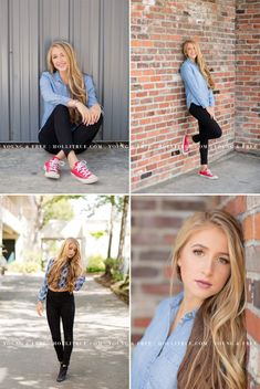 Gorgeous urban-inspired senior pictures with Class of 2017 Corvallis senior, Taylor, by Eugene, Oregon Photographer, Holli True Senior Girl Poses, Girl Photo Poses, Picture Poses, Senior Girls, Senior Session, Senior Posing, Girl Photos, Track Senior Pictures, Country Senior Pictures