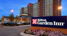 Hilton Garden Inn Chicago O'Hare Airport Des Plaines The Hilton Garden Inn Chicago O'Hare Airport is located 4.8 km from the O'Hare International Airport. Offering an airport shuttle, it is adjacent to Rivers Casino and within 30 minutes' drive of downtown Chicago.