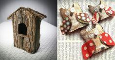 Decoratiuni din scoarta de copac