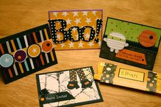 Halloween Cards to Make | Darling Halloween Cards (pebblesinmypocket) | cards to make