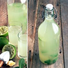 mint limeade cocktails