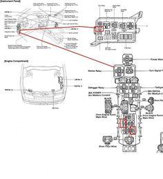toyota corolla 2006 fuse box diagram 2004 toyota corolla. Black Bedroom Furniture Sets. Home Design Ideas