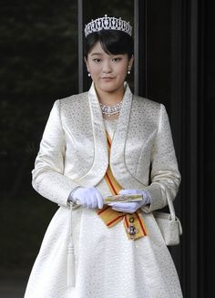 Japan's Princess Mako, the first daughter of Prince Akishino and Princess Kiko,