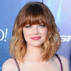 Image from http://hairwithkate.com/wp-content/uploads/2014/06/emma-stone-amazing-spider-man-2-new-york-film-premiere-nude-prada-dress-shory-haircut-celebrity-fringe-red-carpet-fashion_1.jpg.
